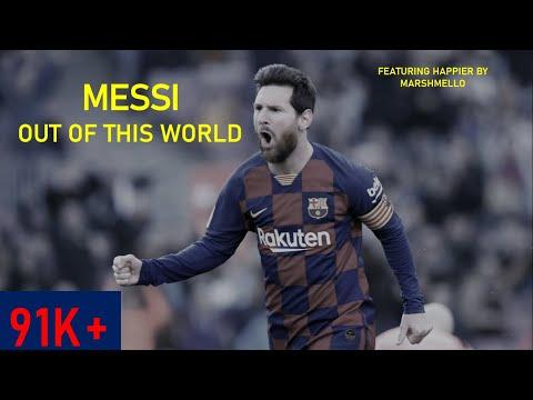 Lionel Messi ● Happier - Marshmello ftle