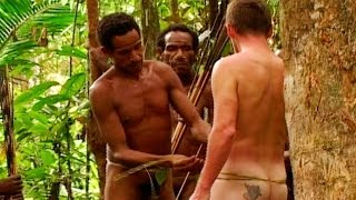 Bruce Gets Naked To Prove Himself - Tribe With Bruce Parry - BBC