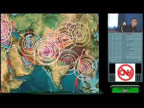 7/05/2017 -- West Coast USA Earthquake / Slow slip event UPDATE -- Japan also on watch