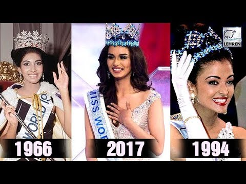Full List Of Miss World's From India Over The Years | Lehren