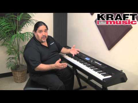 Kraft Music - Roland RD-700NX Stage Piano Demo with Ed Diaz