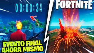 VOLLOANT EXPLODES *NOW* FORTNITE FINAL EVENT *FREE PAVOS* SEASON 9