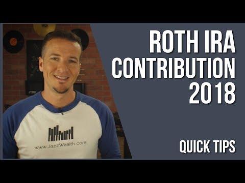 Roth IRA 2018 Contributions | FinVids 📽