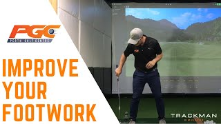 Golf Drills - Improve your footwork