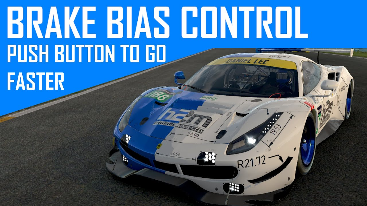 Brake Bias: How and why you should use it in Sim Racing