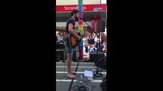 Passenger - Let Her Go (Busking in Adelaide, Australia)