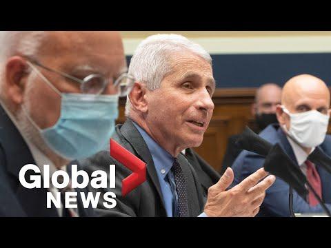 Coronavirus: Fauci, Trump admin. officials testify to Congress as COVID-19 cases surge   FULL