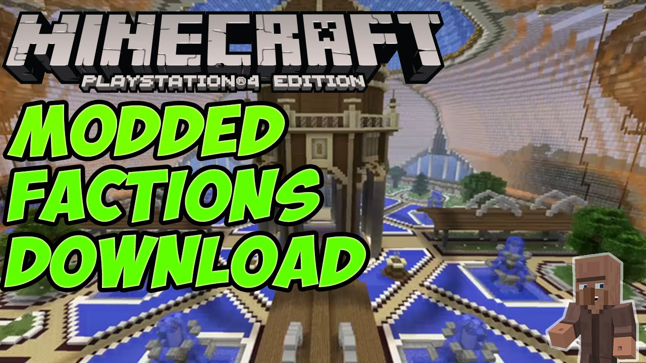 minecraft ps4 modded map download