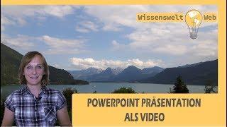 Powerpoint Präsentation als Video mit Ton aufzeichnen und exportieren – multimediale Handouts