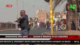 Ghanaians Are Safe – Ghana's Mission In South Africa Assures