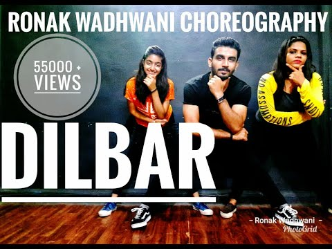 DILBAR dance video   Satyameva Jayate   Ronak Wadhwani Choreography   Nora Fatehi
