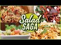 Salad Recipes for Weightloss - 5 BEST Healthy Salad Recipes - Vegetable & Fruit Salads by Ruchi