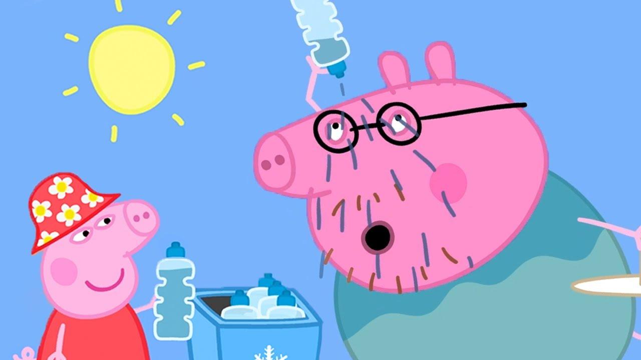 Peppa Pig Italiano ☀️ Un giorno caldo in Australia - Collezione Italiano - Cartoni Animati