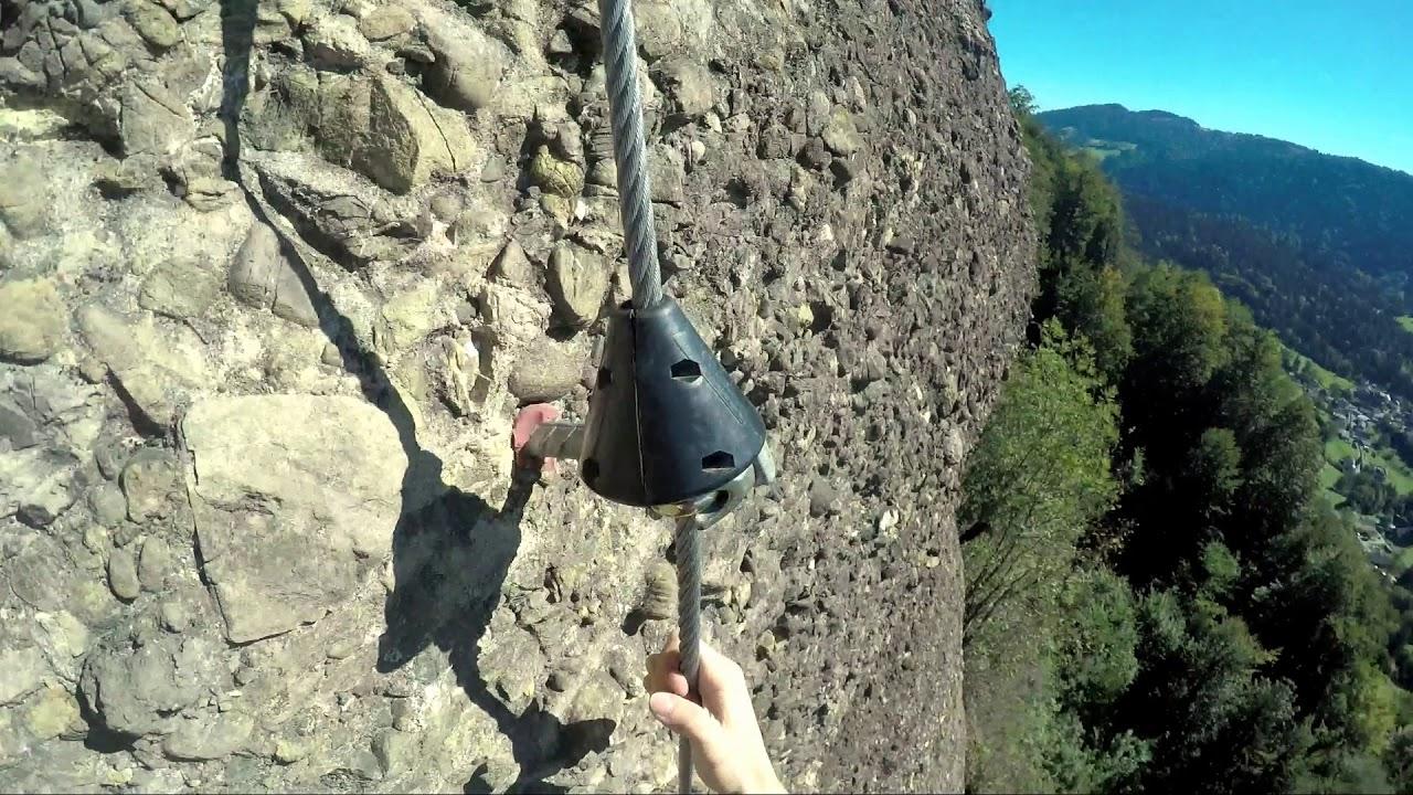 Klettersteig Bregenz : Känzele klettersteig bregenz pfänder youtube