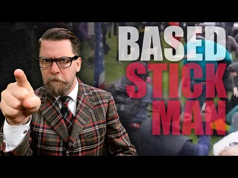 "Gavin McInnes, Based Stick Man talk ""antifa"""