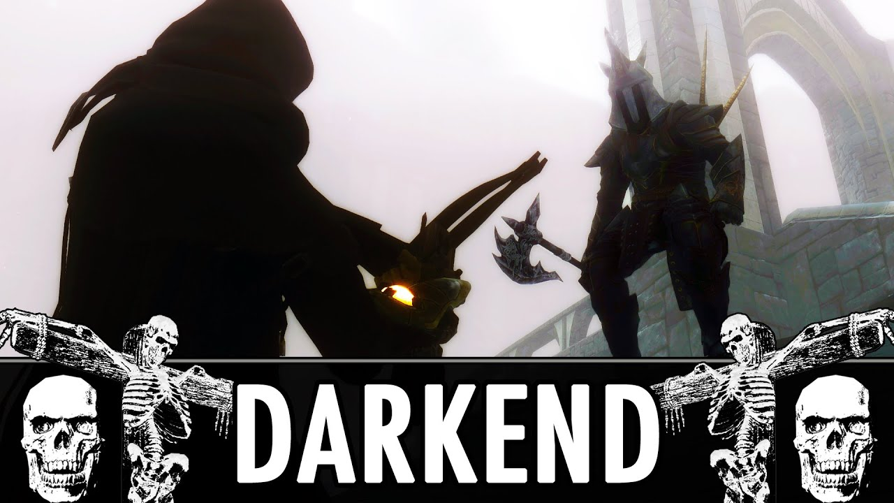 Skyrim Mod: Darkend Dark Souls Inspired Mod YouTube