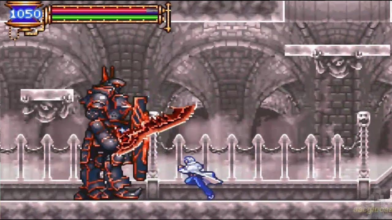Castlevania Aria of Sorrow 100% Conseguir Almas de los Monstruos - YouTube