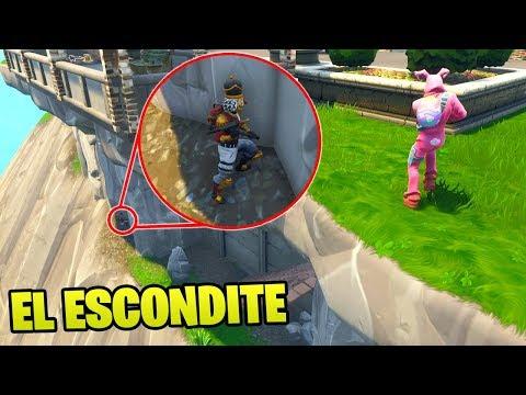 JUGAMOS AL **ESCONDITE** EN LA MANSIÓN DE BATMAN!!😱😱 - El Escondite en Fortnite