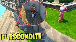 JUGAMOS AL **ESCONDITE** EN LA MANSIÓN DE BATMAN!!😱😱 - El Escondite en Fortnite