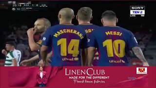 Lionel messi penalty goal - barcelona vs eibar 1-0 la liga 19/09/2017