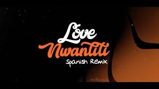 Ckay - love nwantiti feat. De La Ghetto (Spanish Remix) [Official Lyric Video]