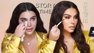Bronze Makeup Look GRWM | TRIGGER WARNING - MY EX Storytime