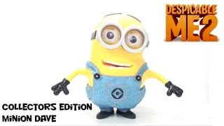 Video Review of the Despicable Me 2 Collectors Edition Minion Dave