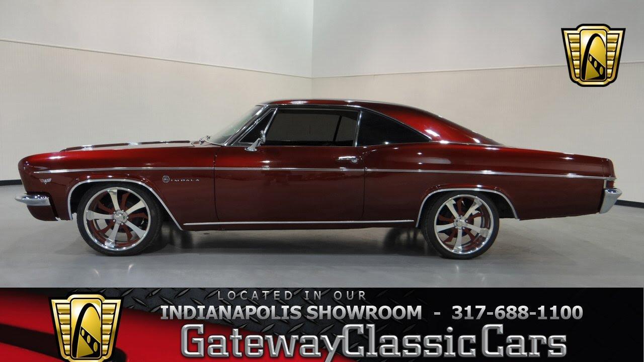 1966 Chevrolet Impala Gateway Clic Cars Indianapolis 288 Ndy You