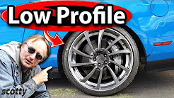 Why Not to Buy Low Profile Tires for Your Car