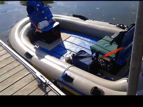 Intex excursion 4 mods part 10 98 done youtube for Buy bass boat without motor