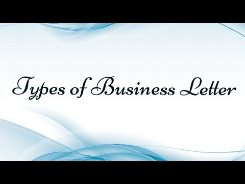 Types Of Business Letter In Hindi And Simple Language