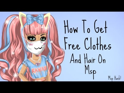 HOW TO GET FREE CLOTHES ON MSP! 2018 MSP HACK
