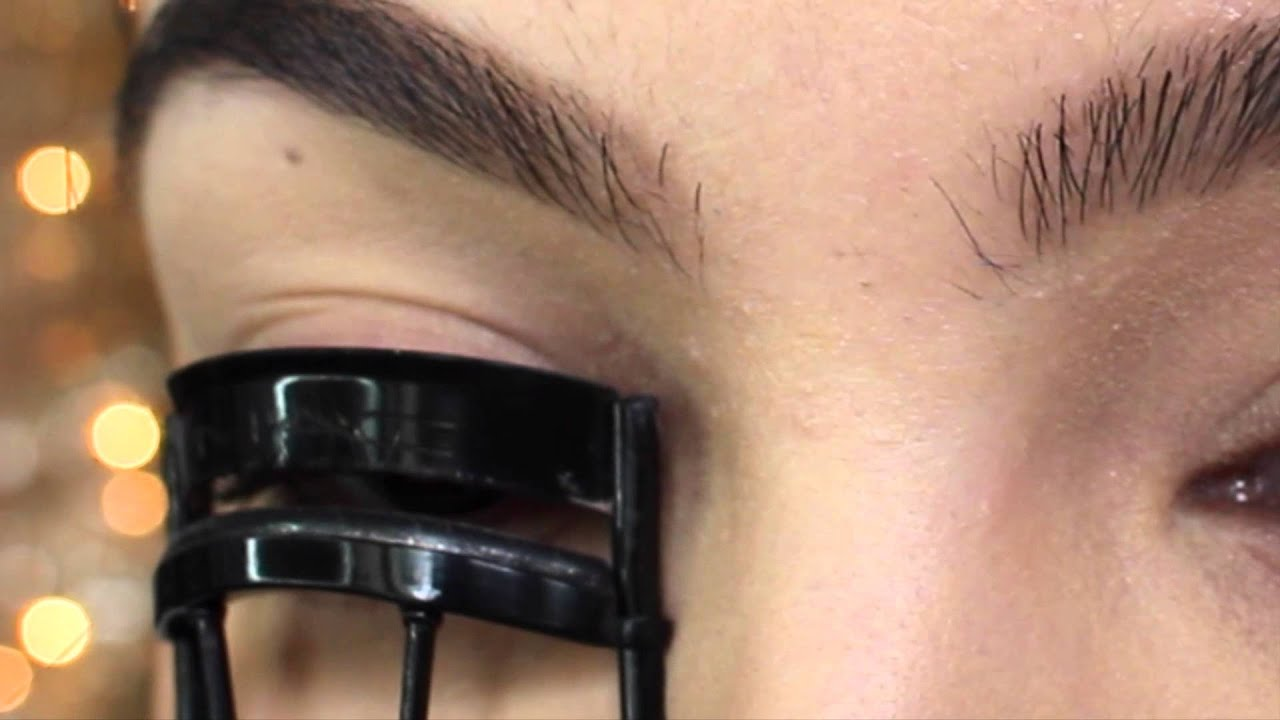How To Curl Straight Lashes To Stay All Day Youtube