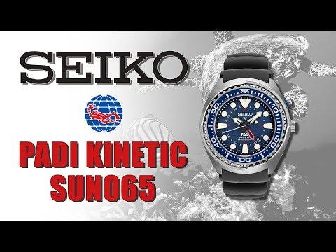 Seiko Kinetic PADI Diver SUN065