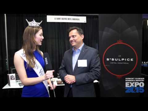 Miss Vermont at the Vermont Business & Industry EXPO