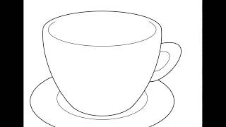 How to Draw a Cup (Step by Step)