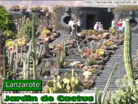jardin de cactus lanzarote spanien spain youtube. Black Bedroom Furniture Sets. Home Design Ideas