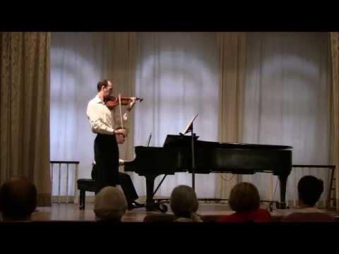 Faure Au bord de l'eau, Op. 8, No. 1 - Violin and Piano
