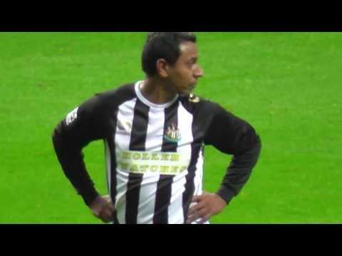 Nobby Solano Free Kick 2013 Newcastle V AC Milan @ Steve Harper Testimonial