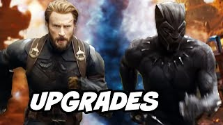 Avengers Infinity War Trailer - Captain America Black Panther Upgrades and Director Commentary
