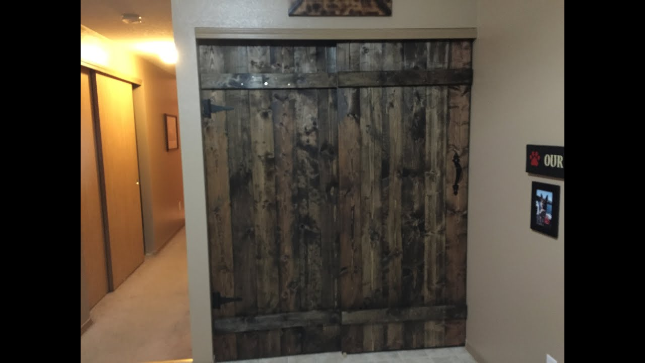 DIY Barn Doors - YouTube