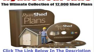 Draw My Own Shed Plans Discount + Bouns
