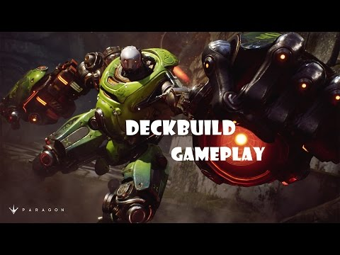 Paragon  Deckbuild + Gameplay #Crunch