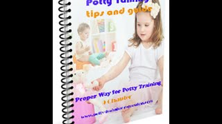 proper way for potty training -free ebook download