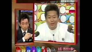 堀江貴文が古舘伊知郎にマジギレ 放送事故
