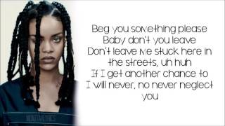 Rihanna work feat drake lyrics ...