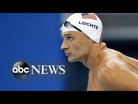 Ryan Lochte Robbed at Gunpoint