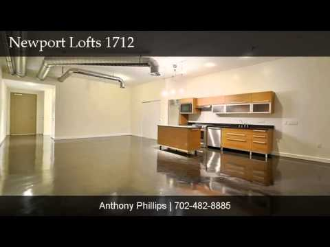 Newport Lofts #1712, Las Vegas, NV 89101