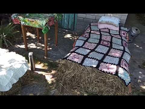 Кровать Из Сена, Сеноблоки - Готовая Мебель, Удобная И С Приятной Энергетикой
