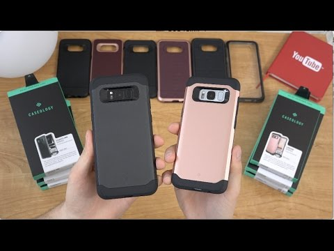 Galaxy S8 and S8+ Caseology Cases!